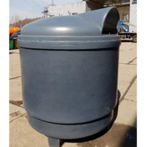 заглубленный контейнер для мусора